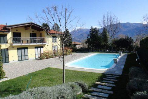 Lago Como Griante Residence con Piscina
