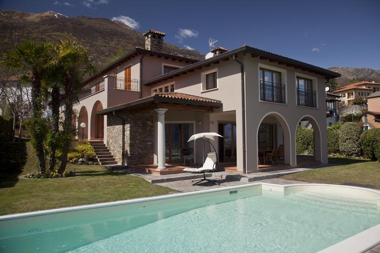 Lago Como Cremia Villa di Lusso con Piscina