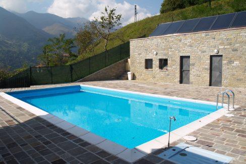 Lago Como Dongo Residence con Piscina
