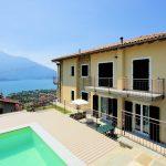 Lago Como Domaso Residence con Piscina Vista Lago e solarium