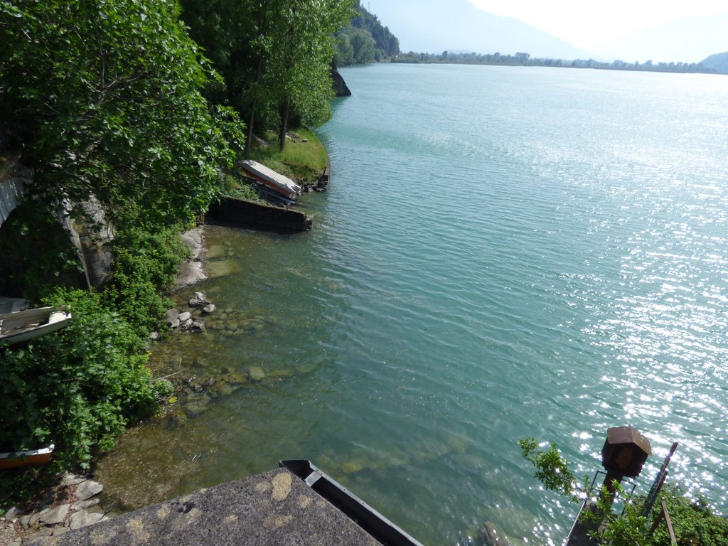 Alto Lago Como Verceia Rustico Vista Lago