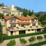 Lago Como Menaggio Lussuoso Residence con Piscina ed ascensore soleggiato