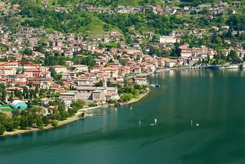 Lago Como Gravedona ed Uniti Appartamenti con terrazzo - posizione