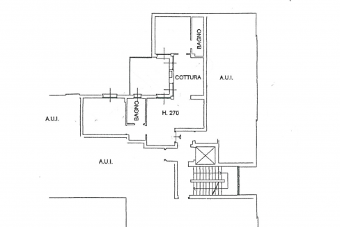 Lago Como Gravedona ed Uniti Appartamenti con terrazzo - Piantina B8