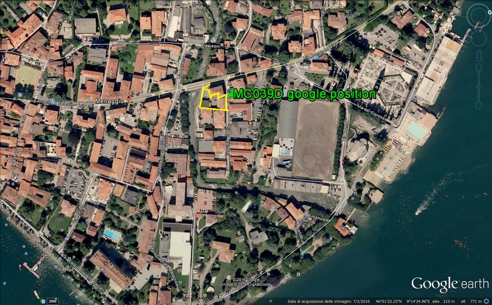 Lago Como Menaggio Fabbricati a 100mt Dal Lago