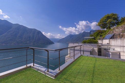 Rid. MC088 - Lago Como Colonno - Villa moderna vista lago (36)