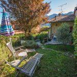 Lago Como Oliveto Lario casa con giardino