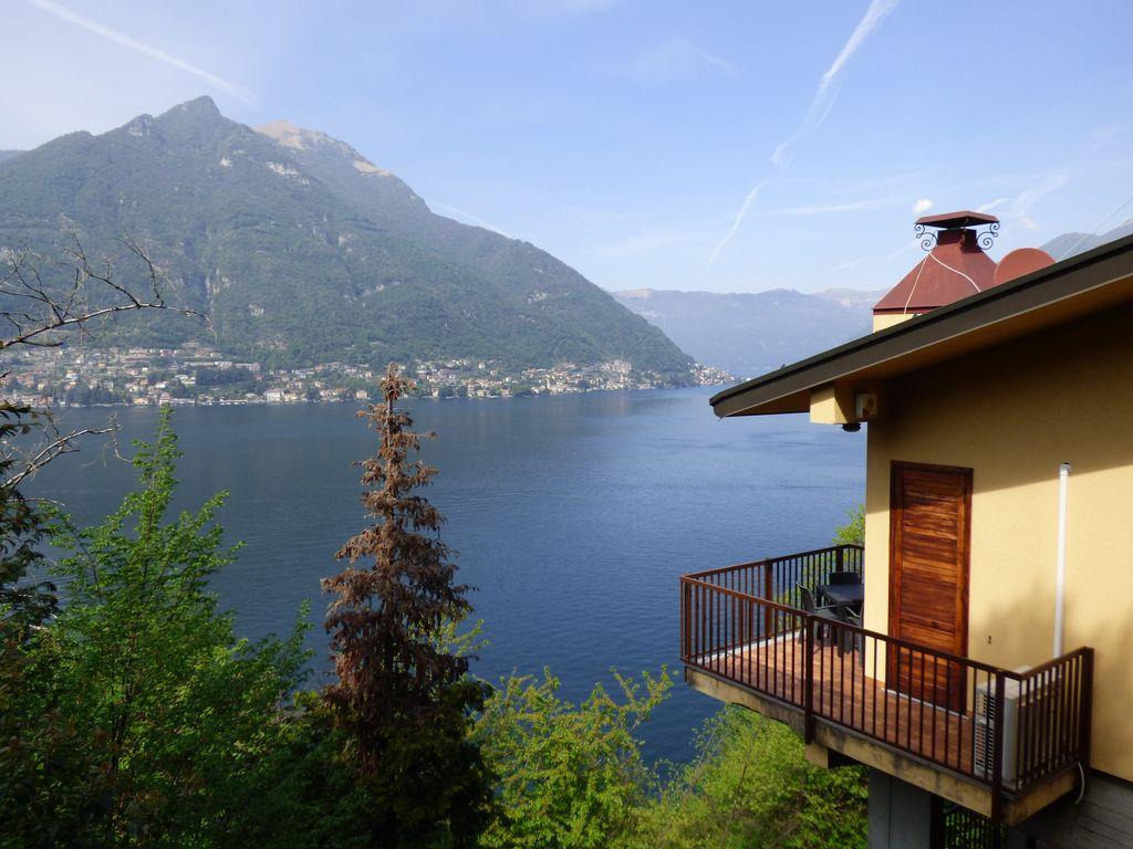 Villa Indipendente Faggeto Lario Fronte Lago Como
