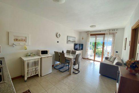 Appartamento Lago di Como Gera Lario con Piscina - soggiorno