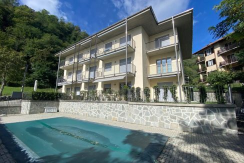 Appartamento Lago di Como Gera Lario con Piscina
