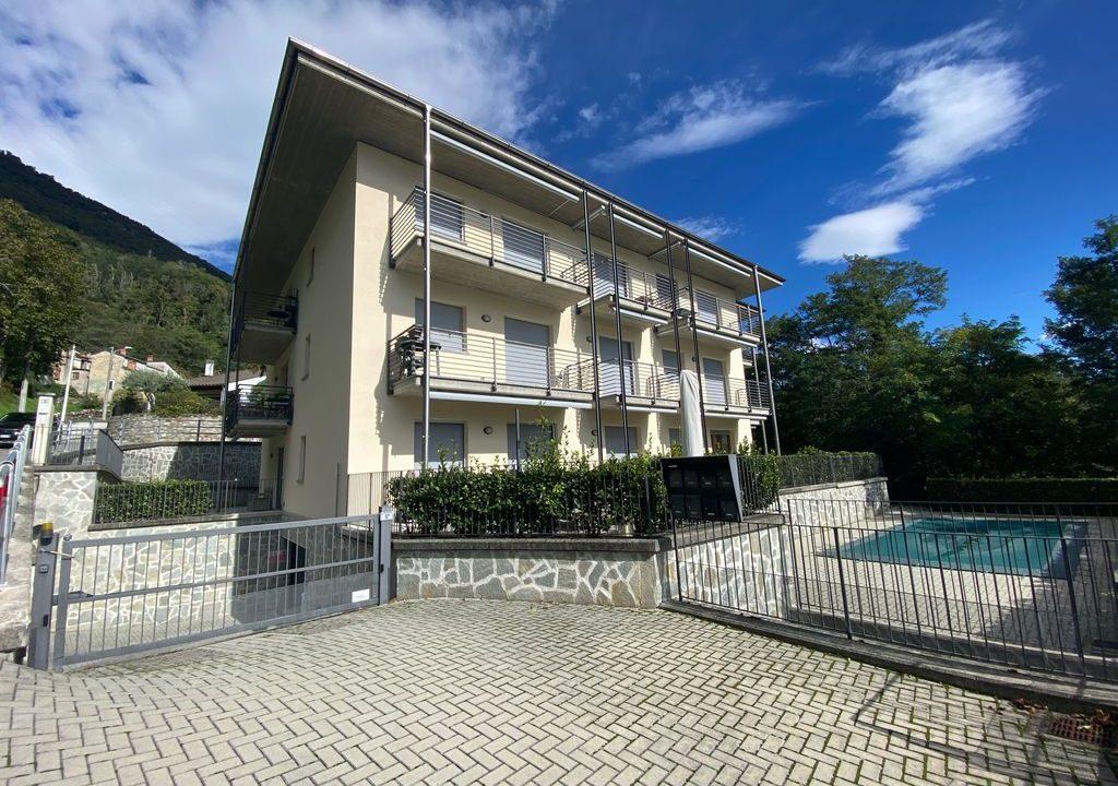 Appartamento Lago di Como Gera Lario con Piscina -