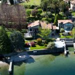 Villa di Lusso Fronte Lago con Darsena vista lago