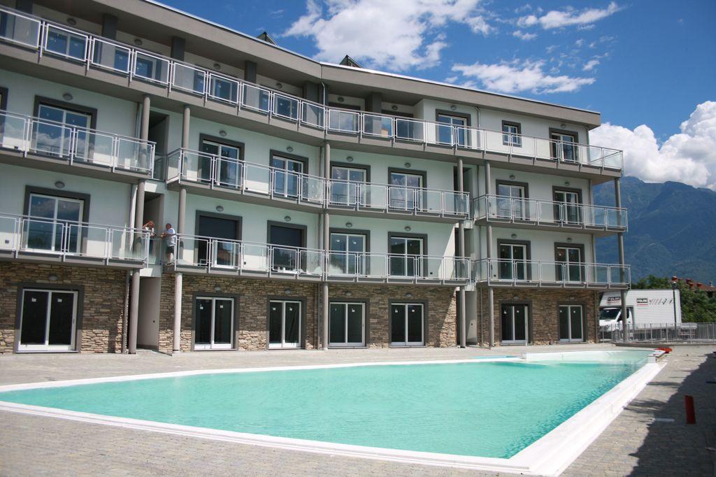 Appartamento Domaso Residence con Piscina