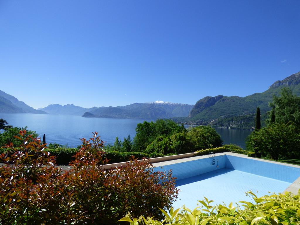Appartamento San Siro con piscina e vista lago