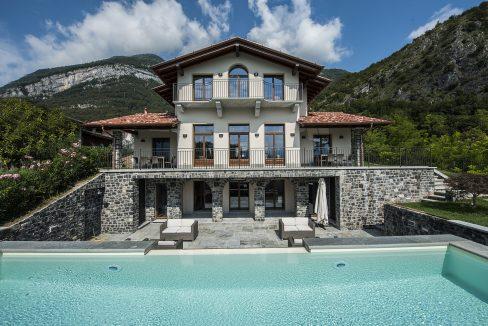Villa Tremezzo con piscina e giardino