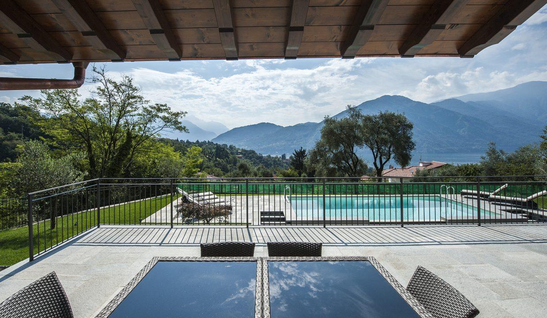 terrazzo in villa - Lago di Como