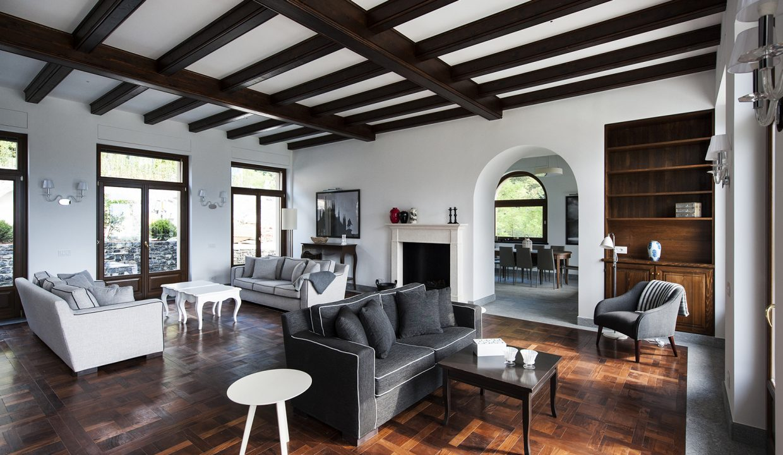 Soggiorno - villa aTremezzo - Lago di Como