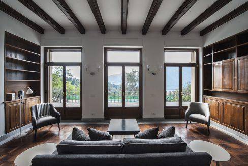 Tremezzo villa indipendente con piscina, giardino e vista lago