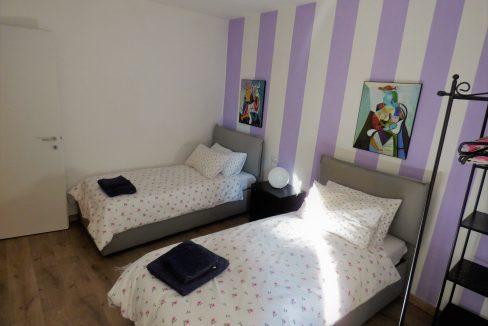 Camera da letto - Lago di Como - camera con due letti