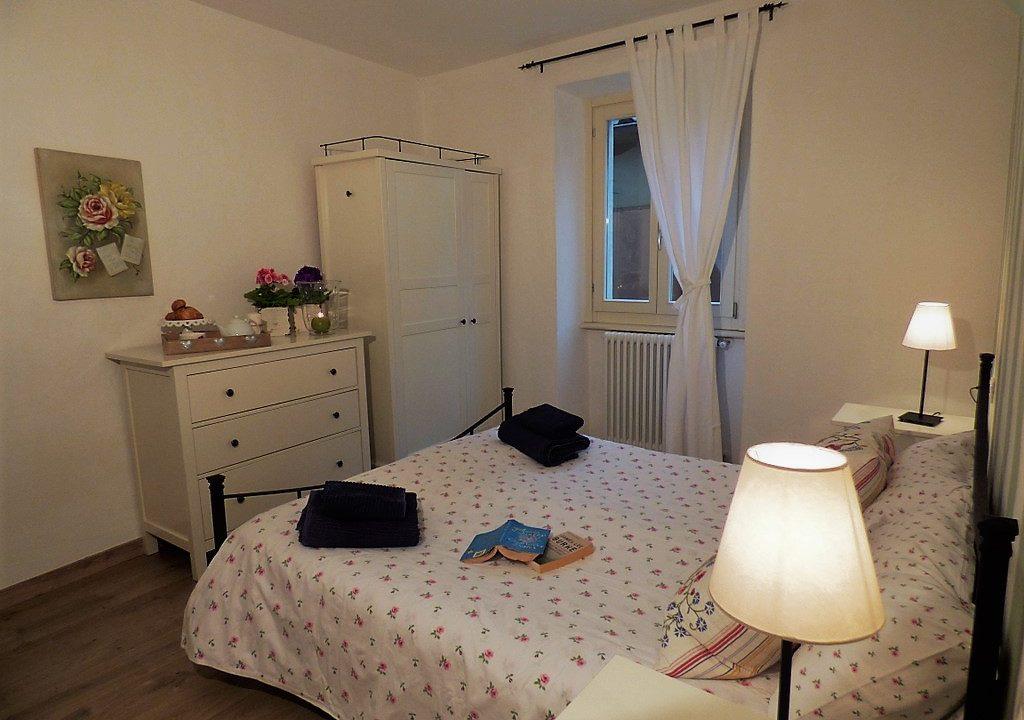 Camera da letto Menaggio lago di Como