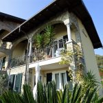 San Siro Villetta con balcone, giardino e vista lago