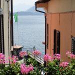 Vista lago dal balcone a Menaggio