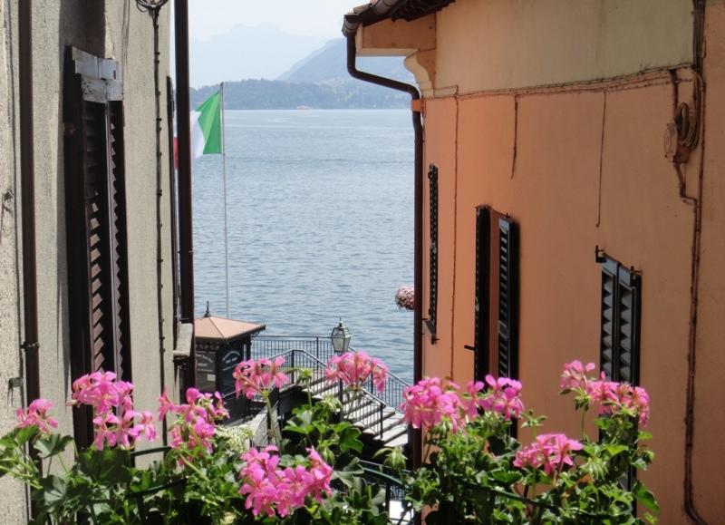 Lago di Como Menaggio Appartamento con balcone e vista lago