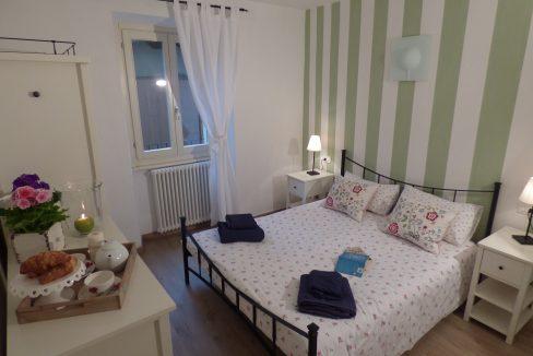 camera da letto - Menaggio Appartamento con balcone e vista lago