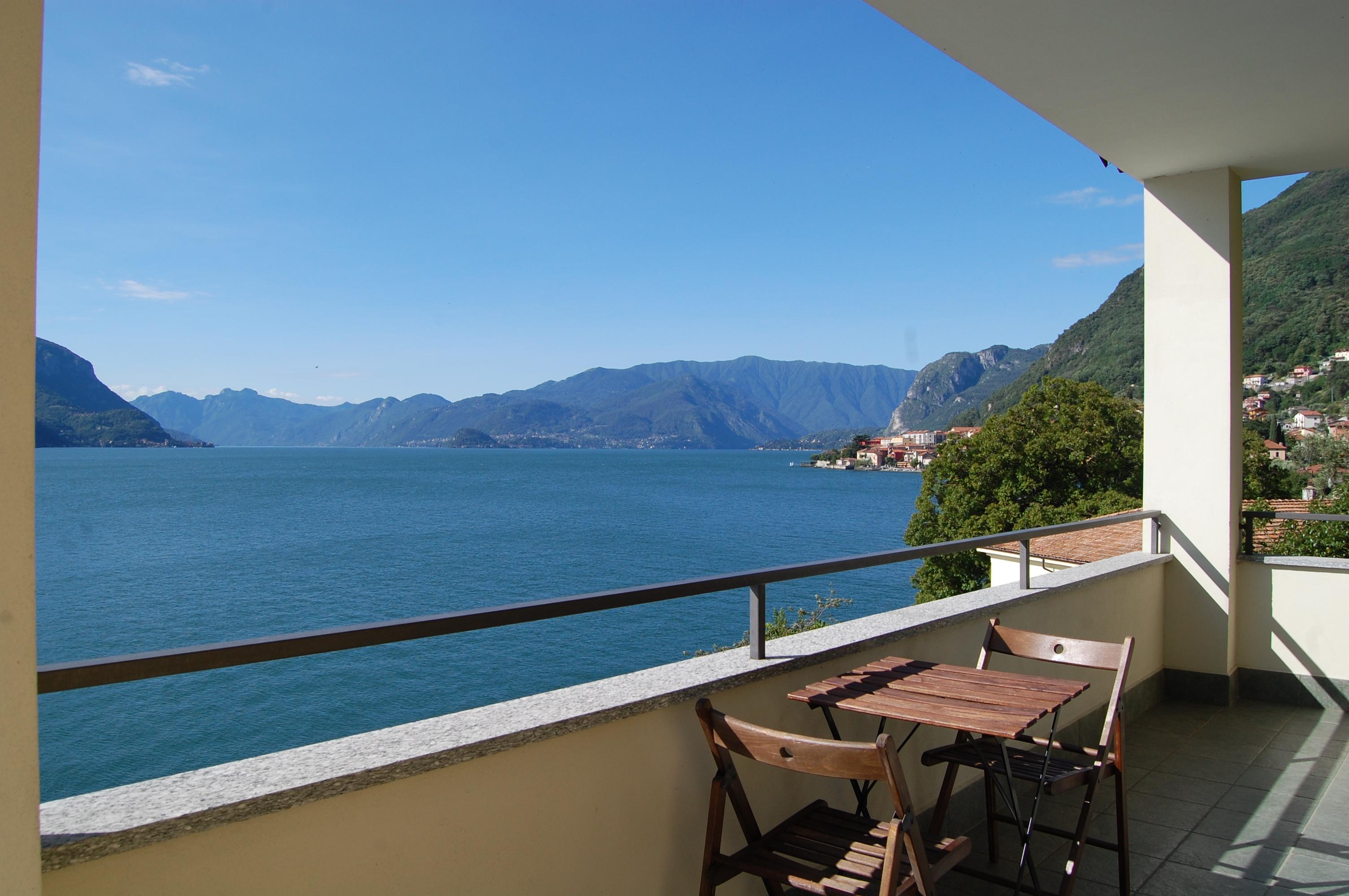 Lago Como San Siro Appartamento fronte lago