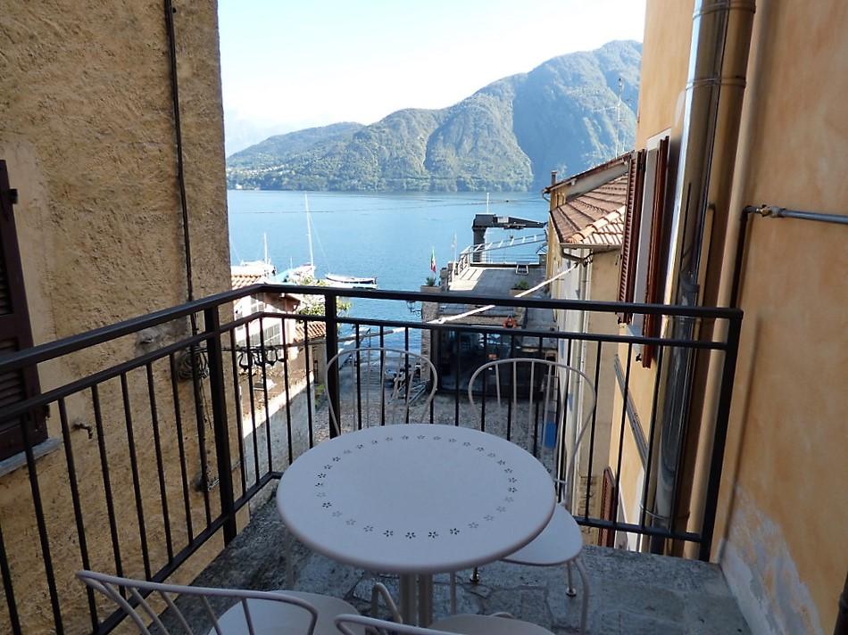 Lago di Como Tremezzo Appartamento - vista lago da terrazzo