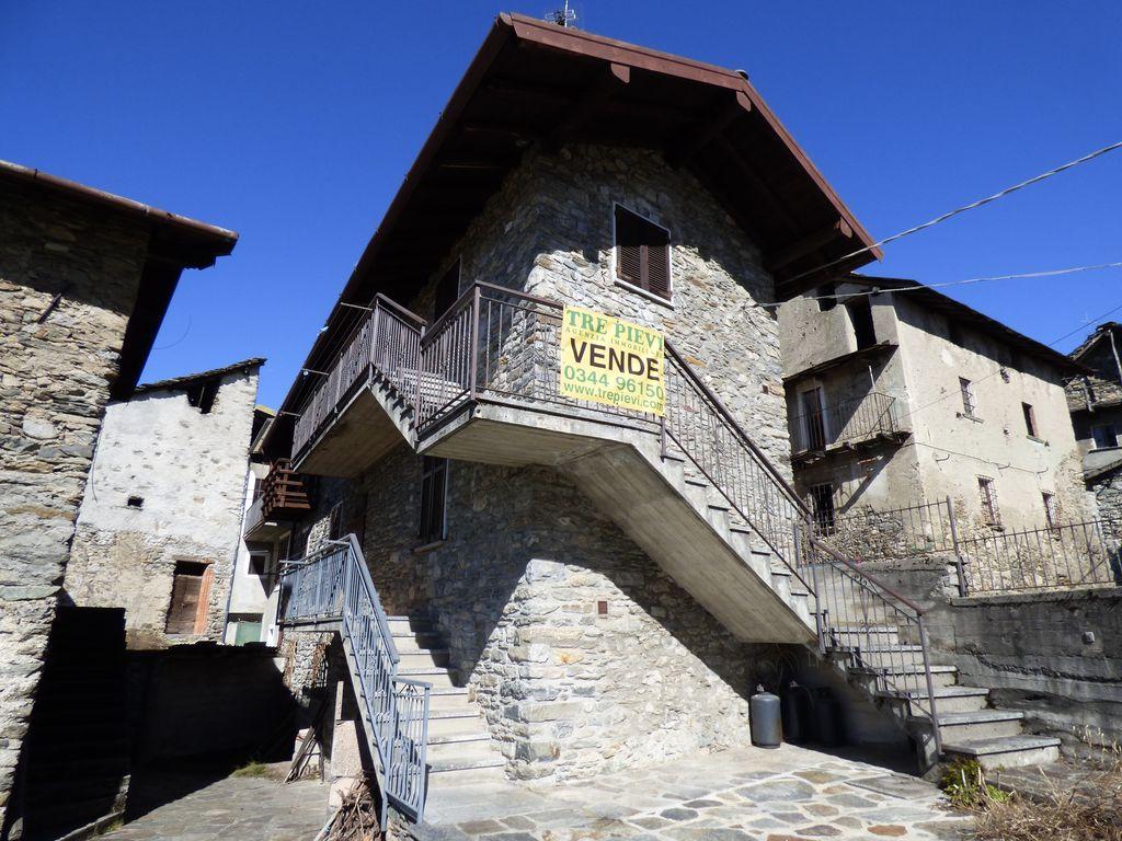 Gravedona ed Uniti Casa in Sasso con Vista Lago