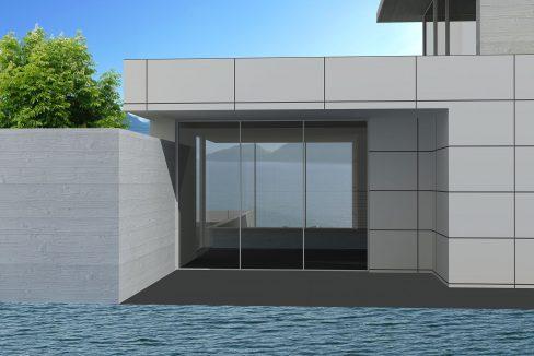 Villa Moderna da Edificare Lago Como Pianello del Lario