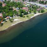 Casa Fronte Lago Como Domaso con Terreno