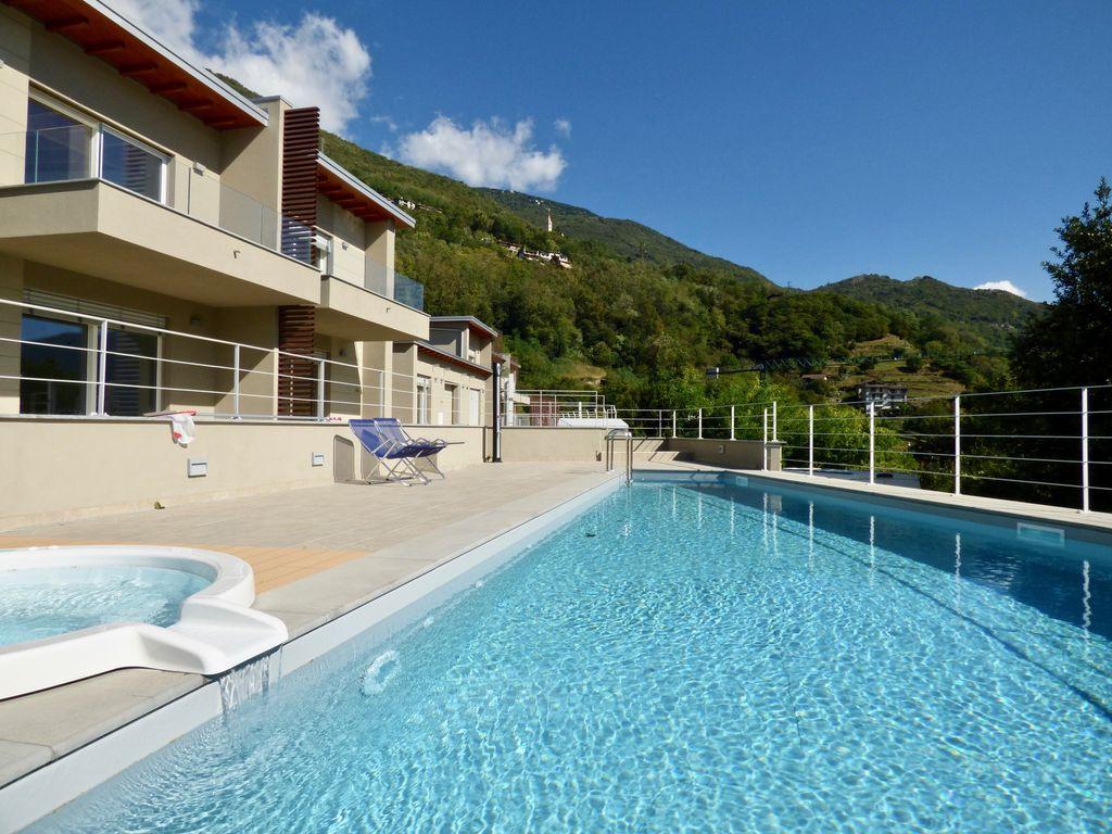 Appartamenti in moderno residence con piscina gera lario - Appartamenti in montagna con piscina ...