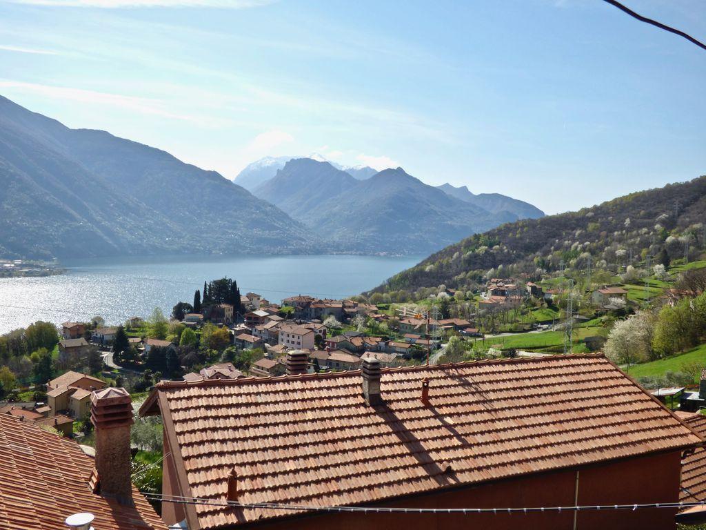 Casa Lago Como Cremia con Terreno