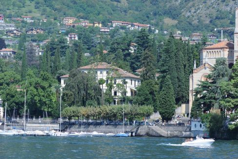 Lago Como Tremezzo - vista dal lago