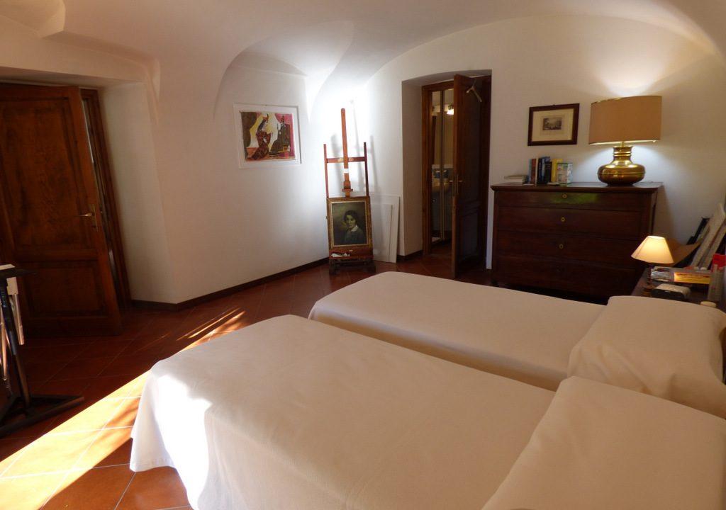 Lago Como Tremezzo - camera da letto in appartamento