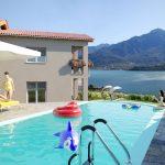 Appartamenti Domaso residence con piscina