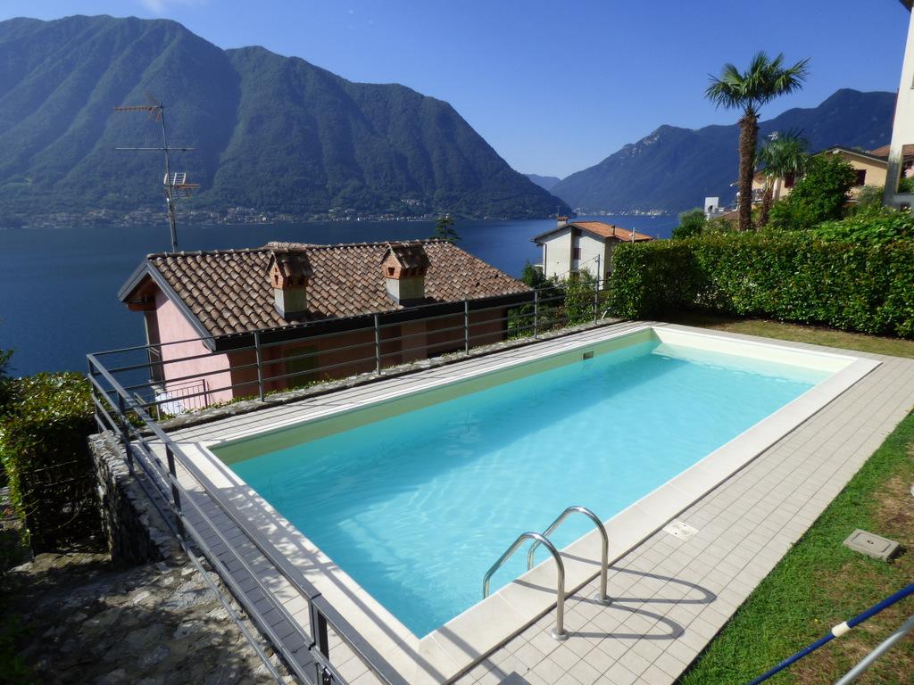 Villetta Sala Comacina con piscina e giardino