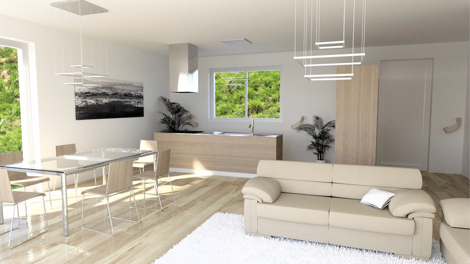 Appartamenti moderni lago como domaso residence vista lago for Interni di appartamenti moderni
