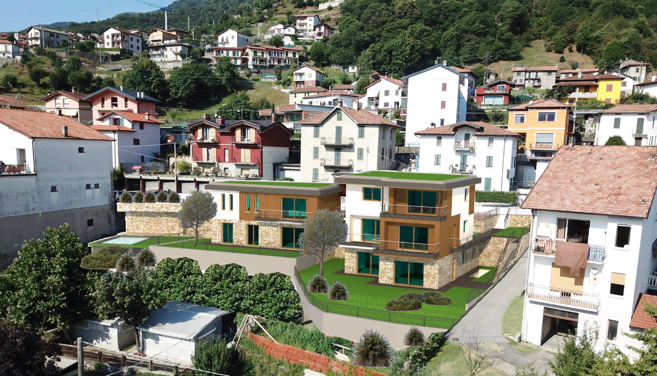 Appartamenti moderni lago como pianello del lario tre pievi for Appartamenti moderni