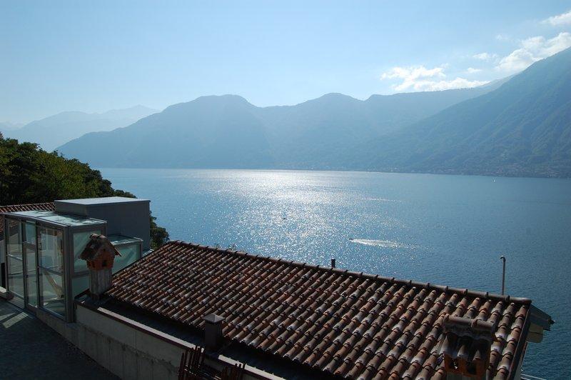 Lago Como Sala Comacina Residence con piscina - vista lago