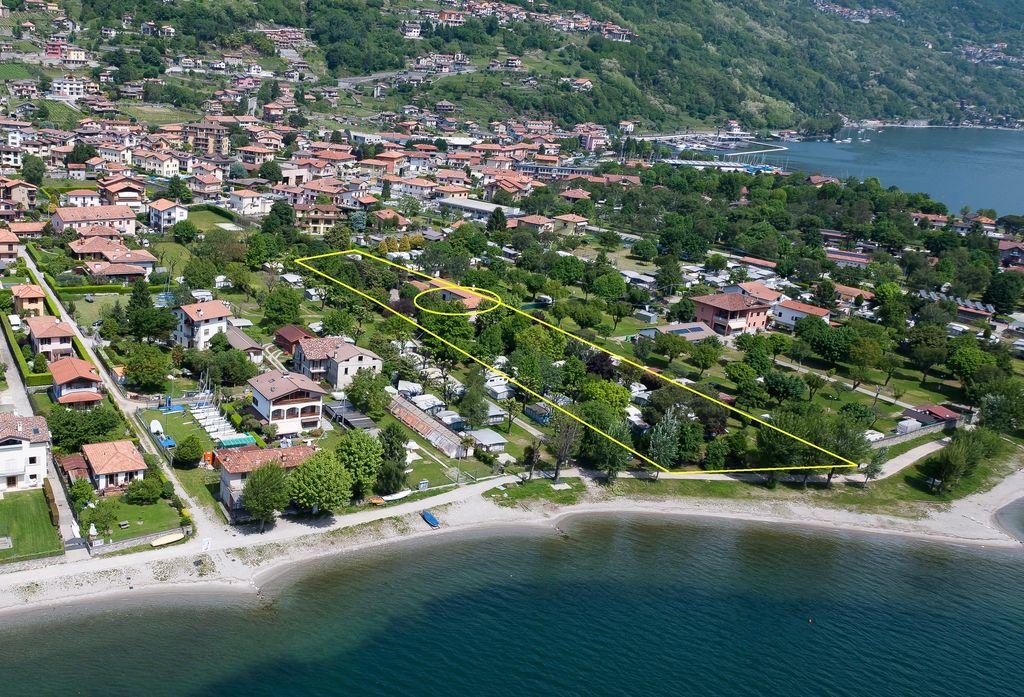 Campeggio Domaso Fronte Lago Como