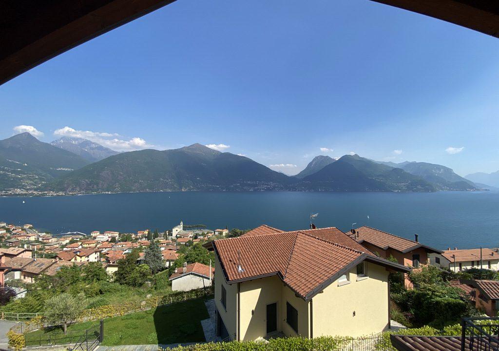 San Siro appartamento con piscina e terrazzo - vista lago
