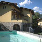 Lago Como Menaggio Villa Vista Lago con piscina
