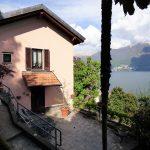 Moltrasio Casa Fronte lago con giardino vista Lago Como