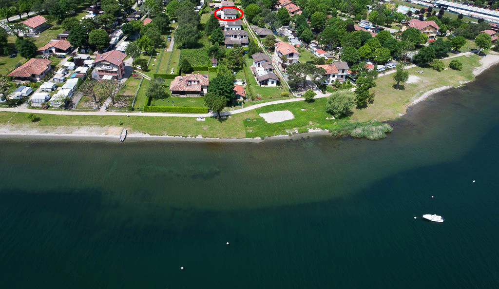 Domaso Appartamento con Portico e Accesso al Lago