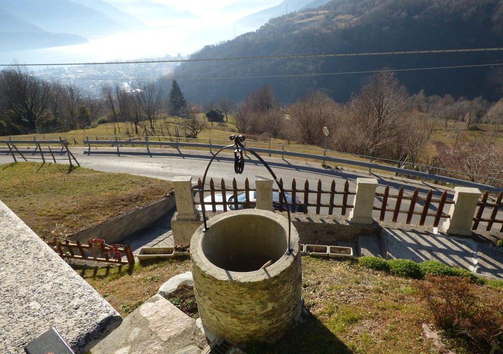 Villa Indipendente Gravedona ed Uniti vista lago
