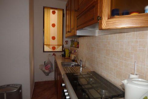 San Siro Rustico Ristrutturato con Vista Lago  - cucina