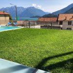 Lago Como Musso Appartamento con piscina